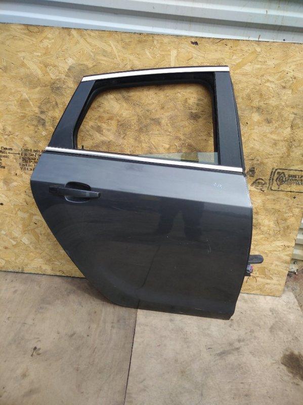 Дверь Opel Astra J A16XER 2012 задняя правая (б/у)