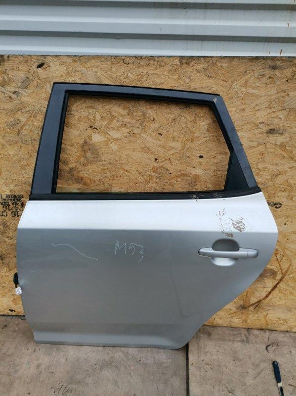 Дверь Kia Ceed ED G4FC 2008 задняя левая (б/у)
