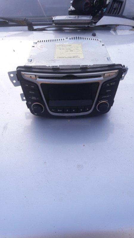 Магнитола Hyundai Solaris G4FC 2016 (б/у)