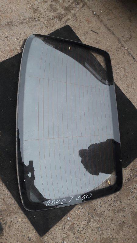 Стекло Chevrolet Aveo T250 F14D4 2010 заднее (б/у)