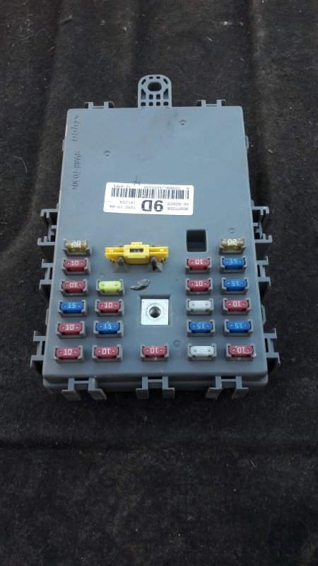 Блок предохранителей Chevrolet Aveo T250 F14D4 2010 (б/у)