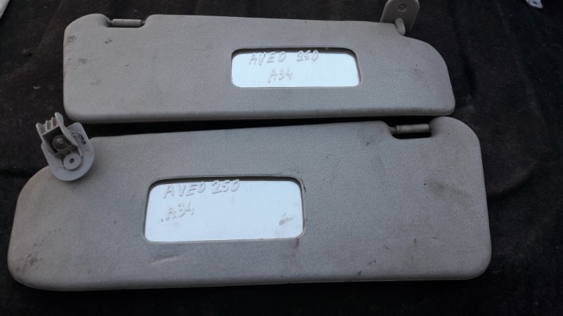 Козырек солнцезащитный Chevrolet Aveo T250 F14D4 2010 (б/у)