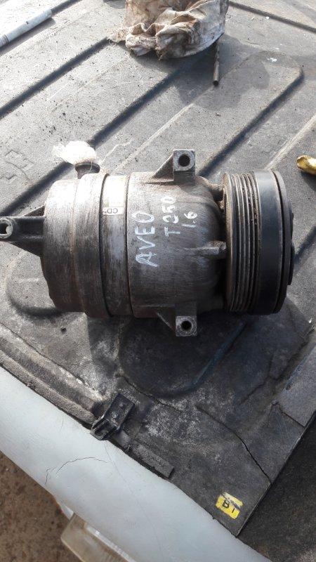 Компрессор кондиционера Chevrolet Aveo T250 F14D4 2010 (б/у)