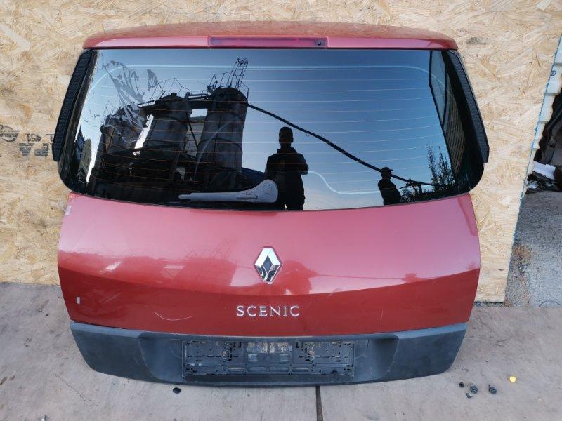 Дверь багажника Renault Scenic K4M 812 2008 (б/у)