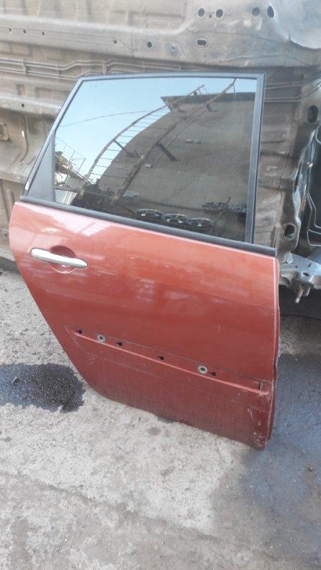 Дверь Renault Scenic K4M 812 2008 задняя правая (б/у)