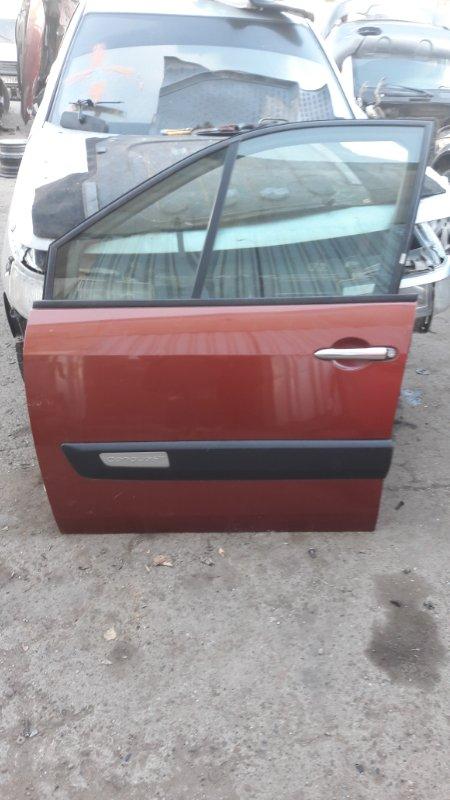 Дверь Renault Scenic K4M 812 2008 передняя левая (б/у)