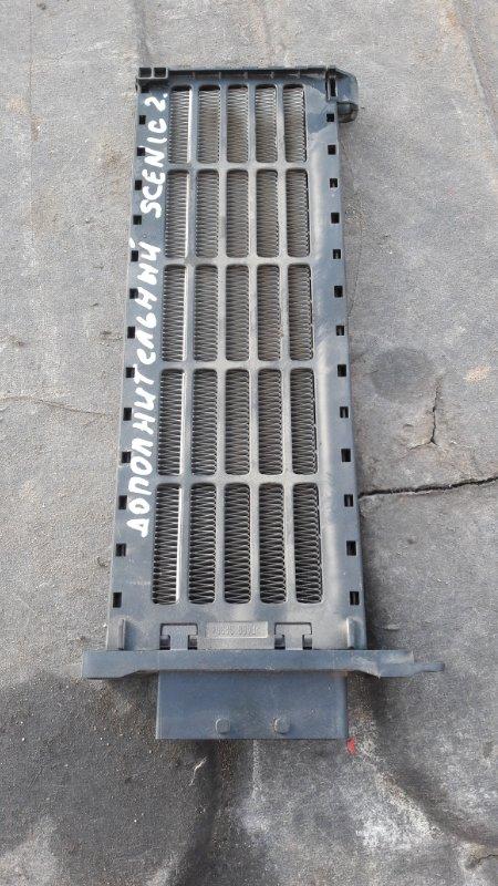 Дополнительный радиатор отопителя Renault Scenic K4M 812 2008 (б/у)