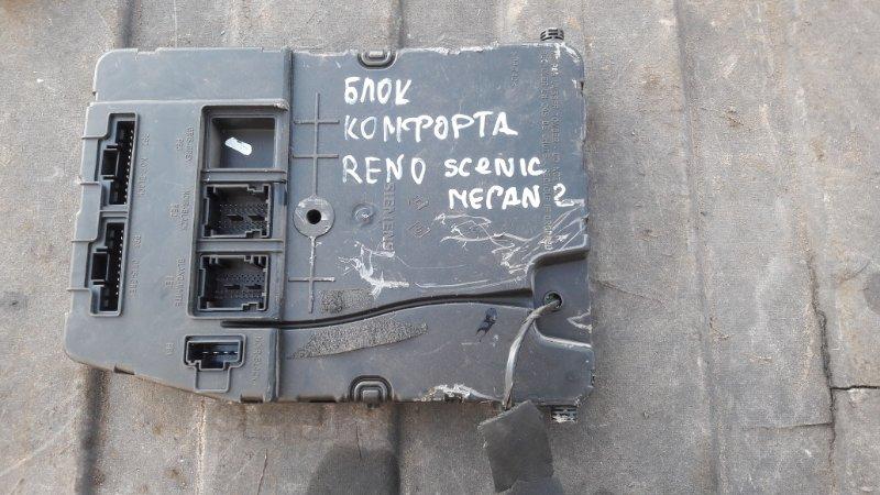 Блок комфорта Renault Scenic K4M 812 2008 (б/у)