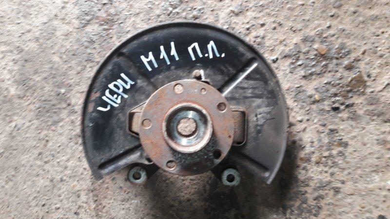 Кулак поворотный Chery M11 SQR481F 2010 передний левый (б/у)