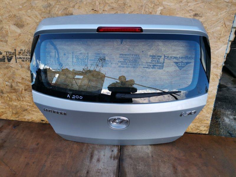 Дверь багажника Hyundai I30 G4FC 2010 (б/у)