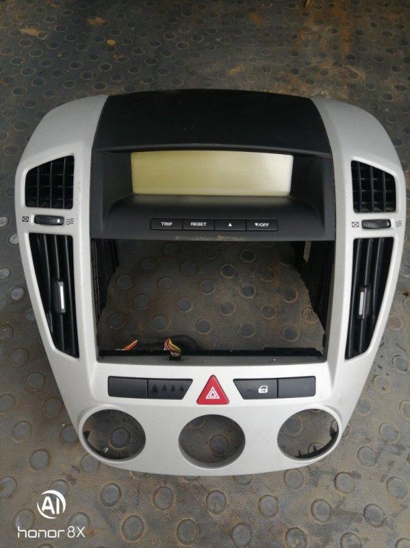 Рамка магнитолы Kia Ceed ED G4FC 2008 (б/у)