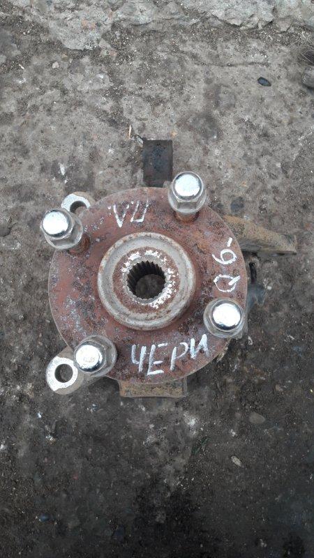 Кулак поворотный Chery Qq6 SQR473F 2008 передний левый (б/у)