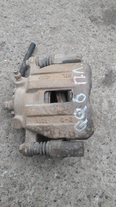 Суппорт Chery Qq6 SQR473F 2008 передний левый (б/у)