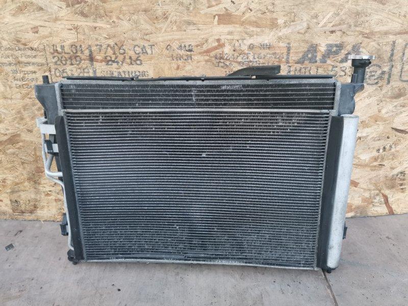 Кассета радиаторов Hyundai I30 G4FC 2010 (б/у)