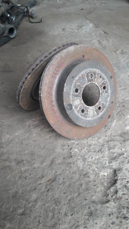 Тормозной диск Mazda Cx-7 L3-VDT 2008 задний (б/у)