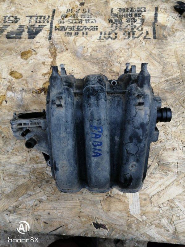 Коллектор впускной Skoda Fabia 2 BZG236599 2009 (б/у)