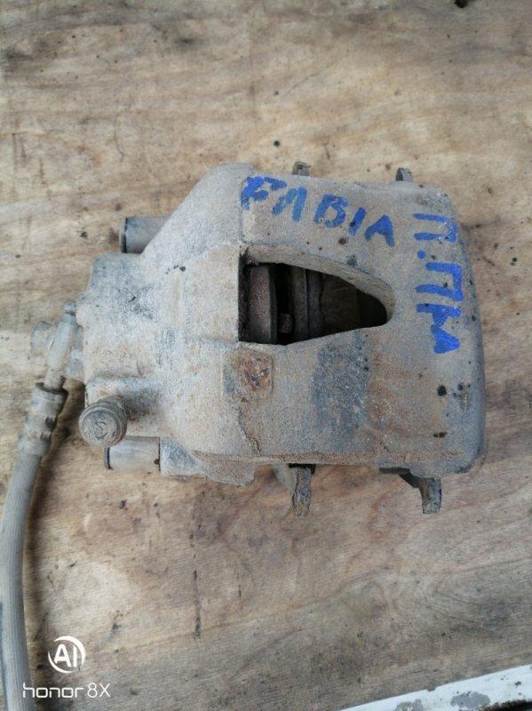 Суппорт Skoda Fabia 2 BZG236599 2009 передний правый (б/у)