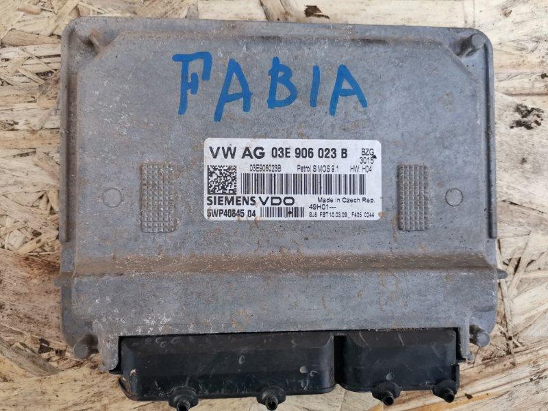 Эбу двс Skoda Fabia 2 BZG236599 2009 (б/у)
