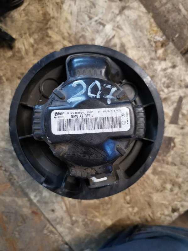Мотор печки Peugeot 207 EP6 2008 (б/у)
