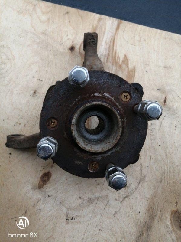 Кулак поворотный Chery Bonus A13 SQR477F 2013 передний правый (б/у)