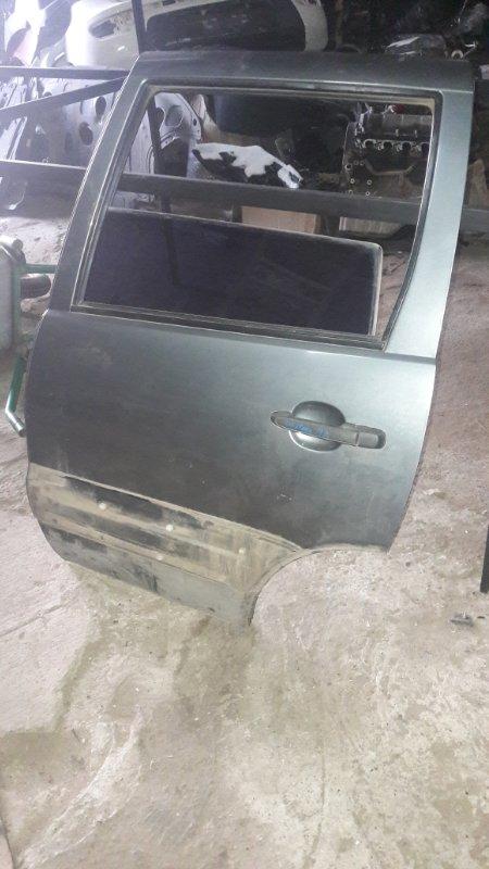 Дверь Chevrolet Niva 2123 0120395 2007 задняя левая (б/у)