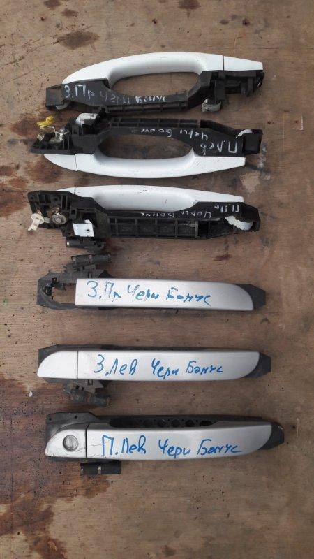 Ручка двери внешняя Chery Bonus A13 SQR477F 2013 (б/у)