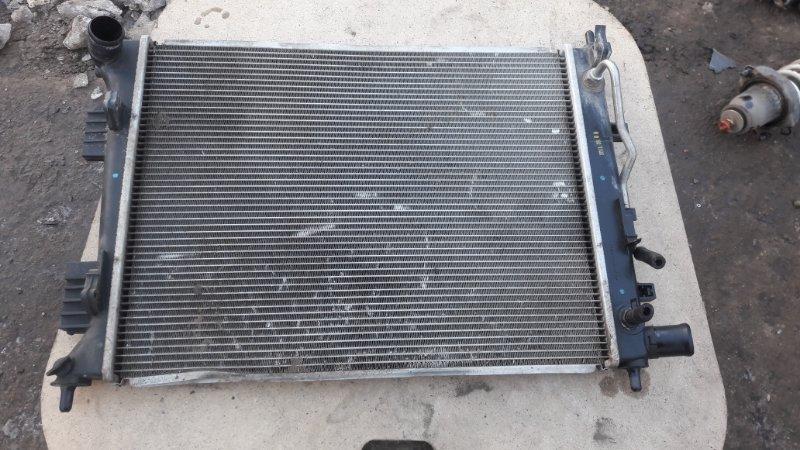 Радиатор двс Hyundai Solaris G4FC 2012 (б/у)