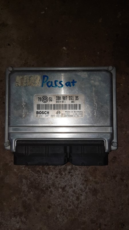 Эбу двс Volkswagen Passat B5+ ATQ 2001 (б/у)