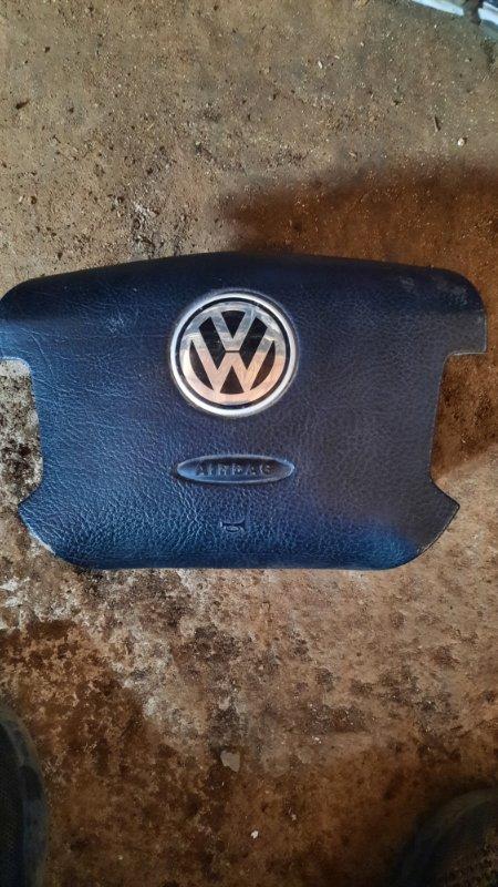 Подушка безопасности в руль Volkswagen Passat B5+ ATQ 2001 передняя (б/у)