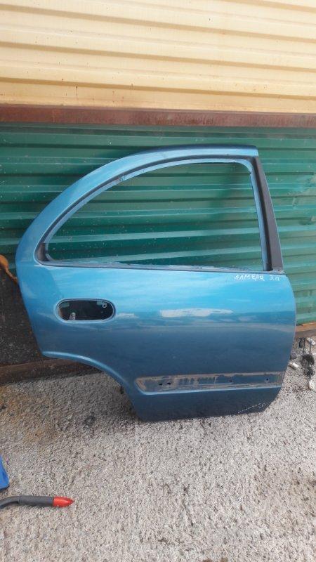 Дверь Nissan Almera задняя правая (б/у)