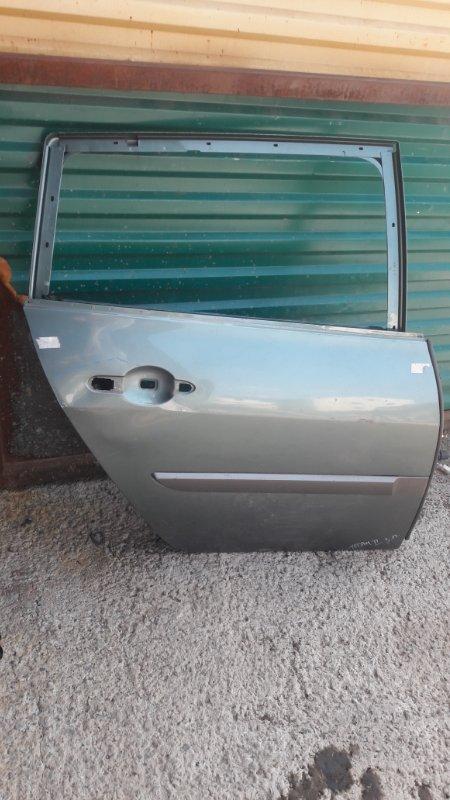 Дверь Renault Megan 2 задняя правая (б/у)