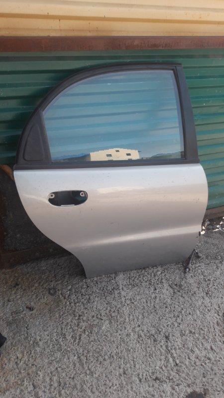Дверь Chevrolet Lanos задняя правая (б/у)