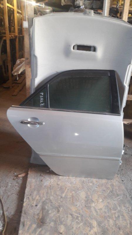 Дверь Toyota Mark 2 110 2JZ-GTE 2002 задняя правая (б/у)