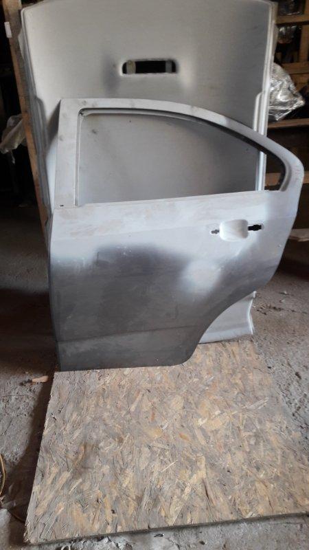 Дверь Chevrolet Aveo T300 задняя левая (б/у)