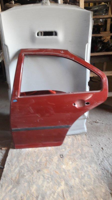Дверь Volkswagen Bora AKL 1999 задняя левая (б/у)