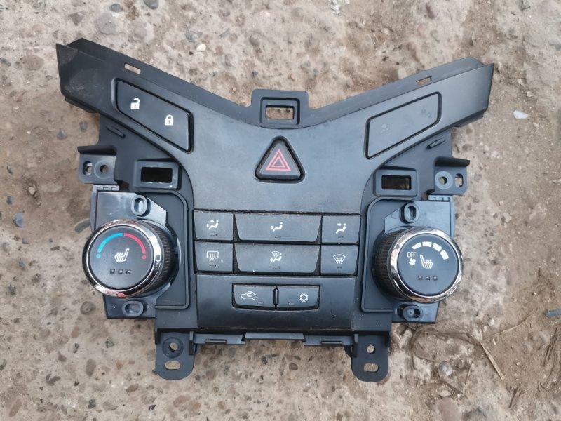 Блок управления печкой Chevrolet Cruze J300 F16D3 2012 (б/у)