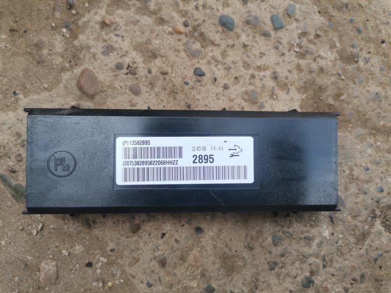 Блок управления климат-контролем Chevrolet Cruze J300 F16D3 2012 (б/у)