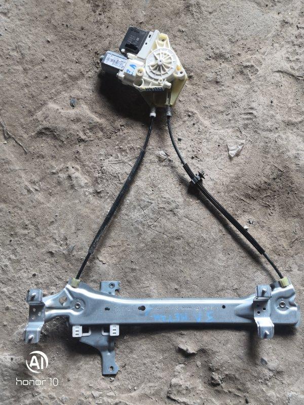 Стеклоподъемник Renault Megan 3 KZ0G/KZOU/KZ1B K4MV838 2015 задний левый (б/у)