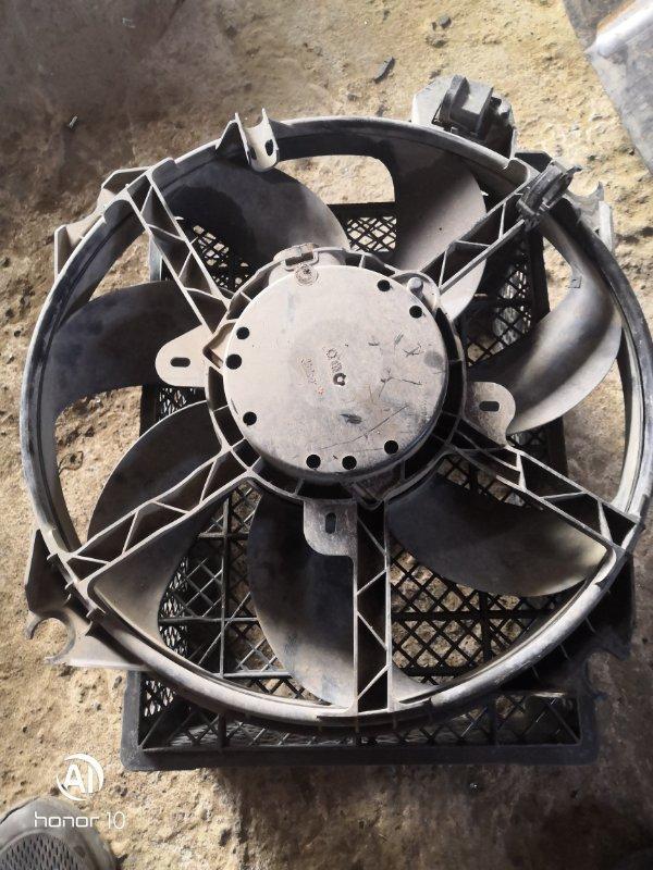 Вентилятор радиатора Renault Megan 3 KZ0G/KZOU/KZ1B K4MV838 2015 (б/у)