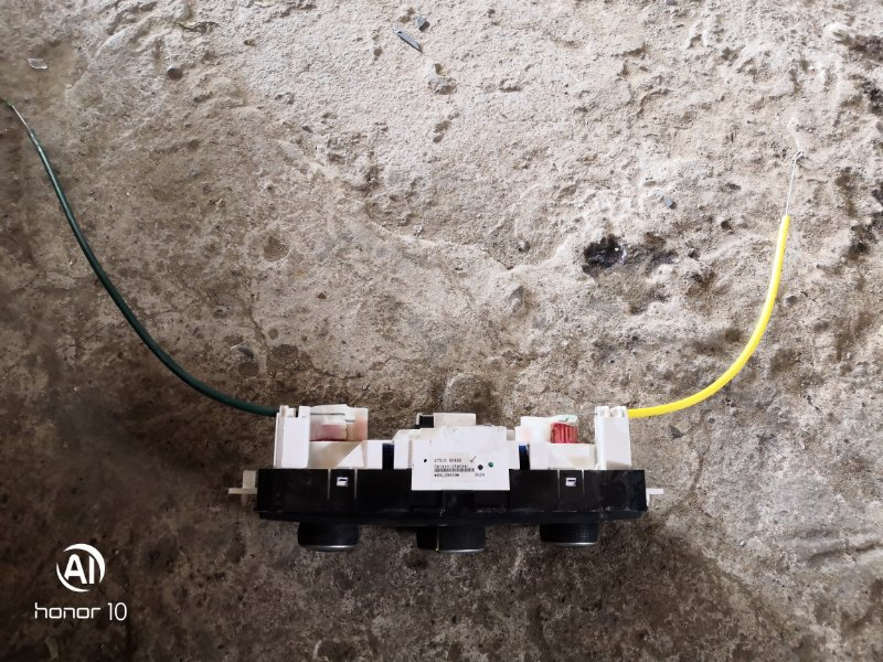 Блок управления климат-контролем Renault Megan 3 KZ0G/KZOU/KZ1B K4MV838 2015 (б/у)