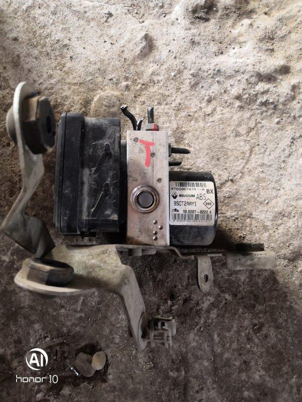 Блок abs Renault Megan 3 KZ0G/KZOU/KZ1B K4MV838 2015 (б/у)