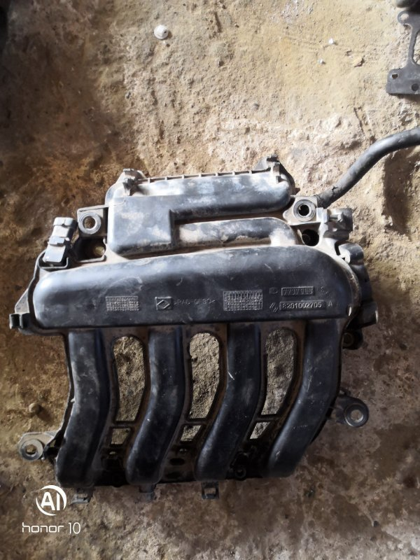 Коллектор впускной Renault Megan 3 KZ0G/KZOU/KZ1B K4MV838 2015 (б/у)