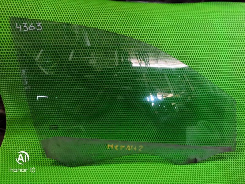 Стекло Renault Megan 2 переднее правое (б/у)