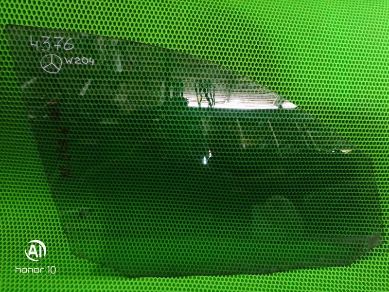Стекло Mercedes W204 2012 переднее правое (б/у)