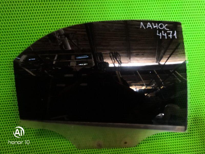 Стекло Chevrolet Lanos заднее правое (б/у)
