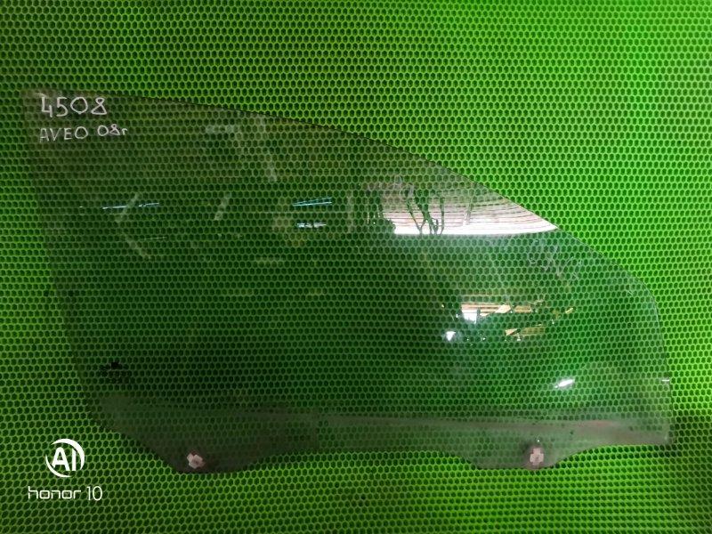 Стекло Chevrolet Aveo 2008 переднее правое (б/у)