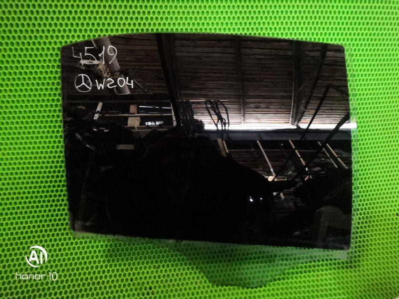 Стекло Mercedes W204 2012 заднее правое (б/у)