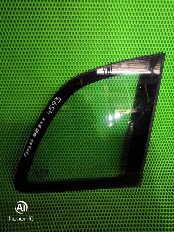 Форточка Hyundai Matrix задняя правая (б/у)