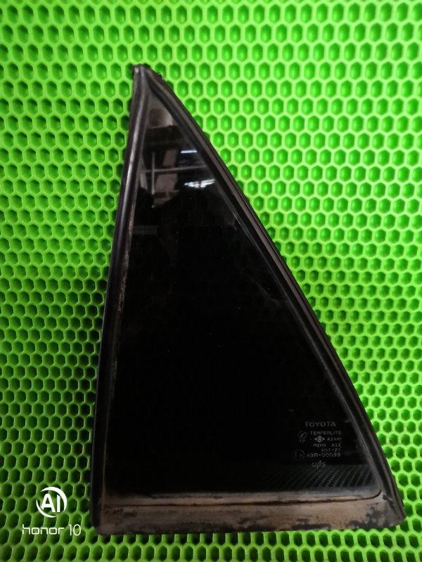 Форточка двери Toyota Corolla 110 задняя левая (б/у)