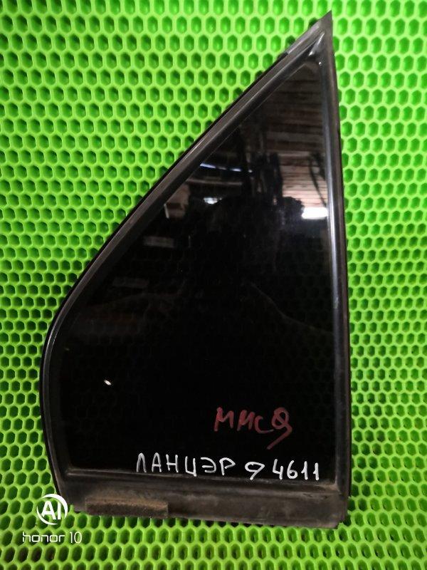 Форточка двери Mitsubishi Lancer 9 4G18 2005 задняя правая (б/у)